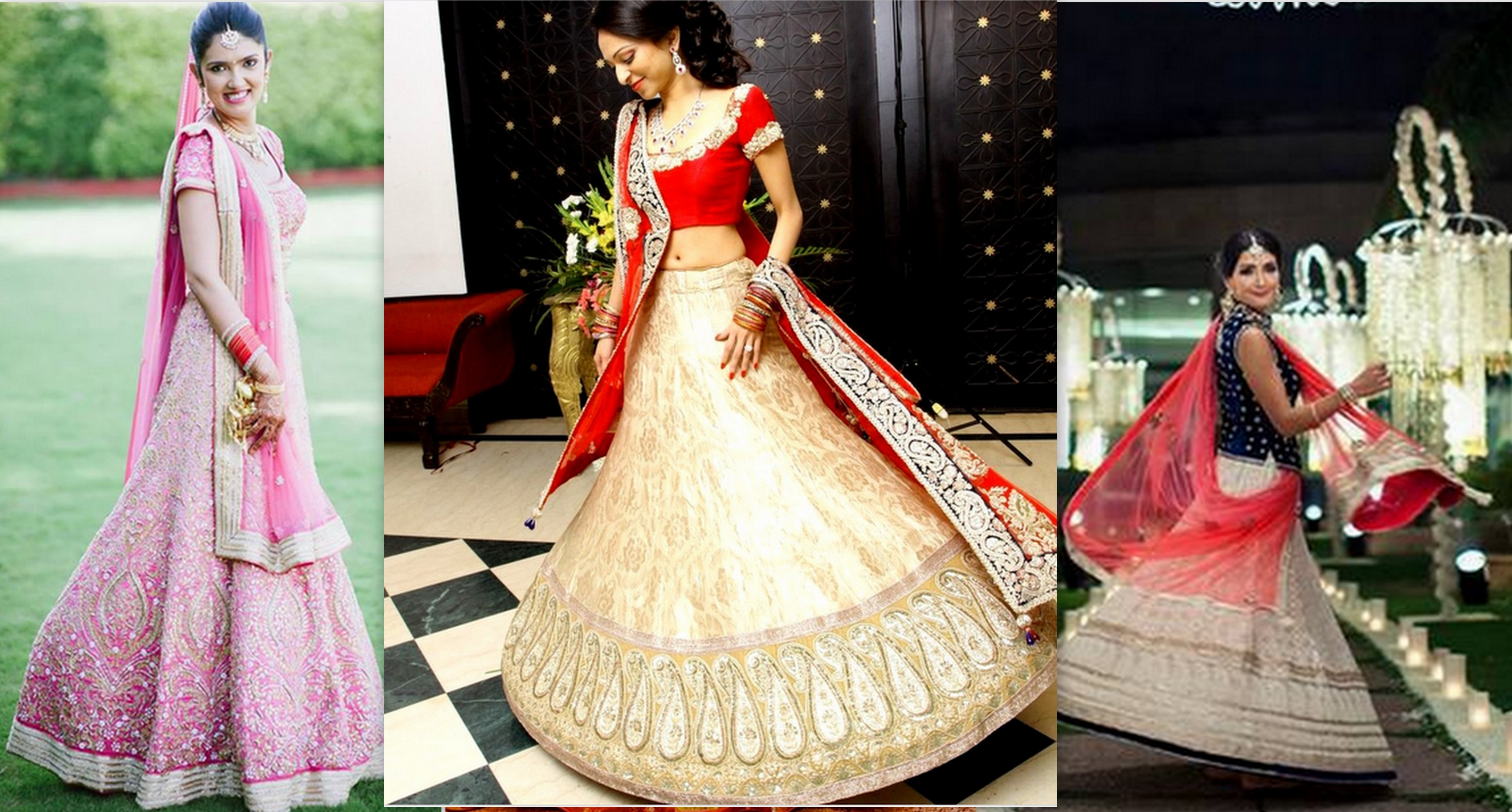 Famous Stores In Chandni Chowk For Designer Lehengas